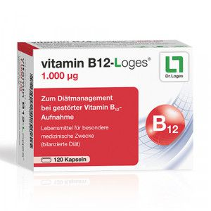 VITAMIN B12-LOGES 1.000 μg Kapseln